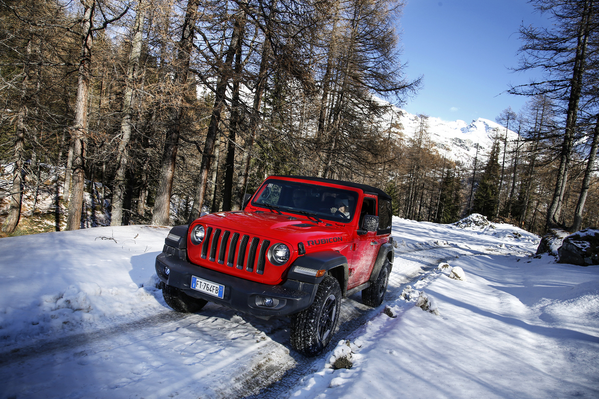 JEEP® WINTER EXPERIENCE Rubicon