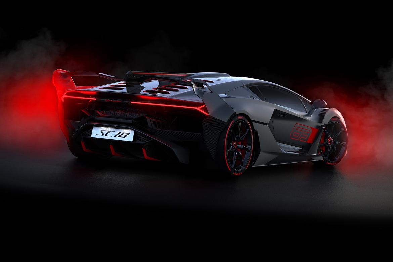 Lamborghini SC18 Alston Tre Quarti Posteriore