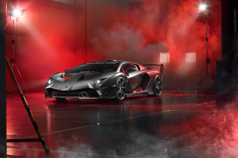 Lamborghini SC18 Alston Tre Quarti dal basso
