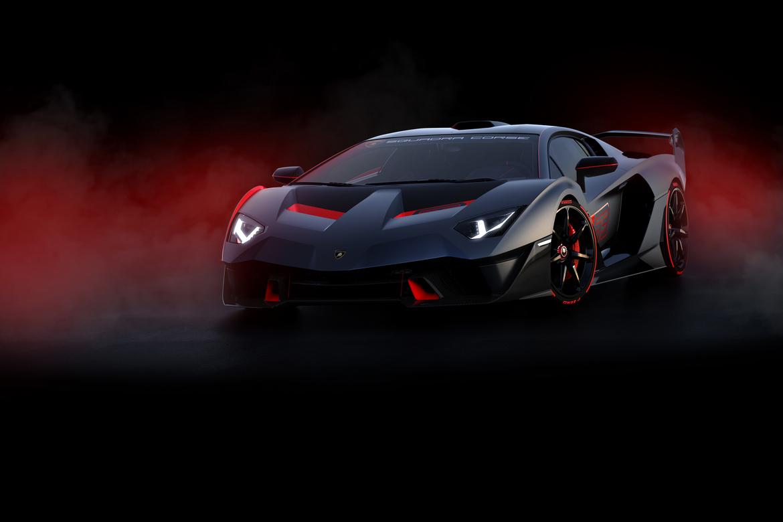 Lamborghini SC18 Alston Tre Quarti