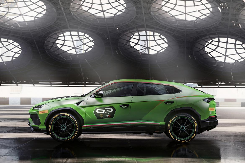 Lamborghini Urus ST-X Concept Lato