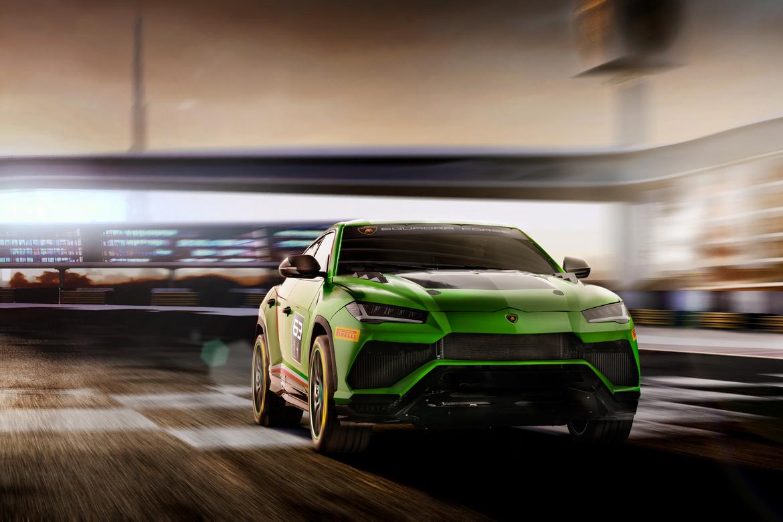 Lamborghini Urus ST-X Concept Pista