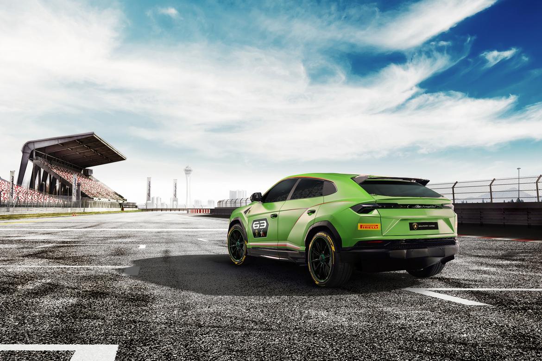 Lamborghini Urus ST-X Concept Tre Quarti Posteriore