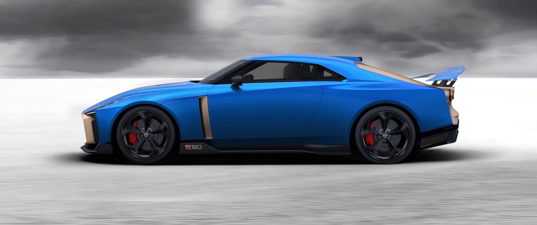 Nissan GT-R50 Italdesign Lato
