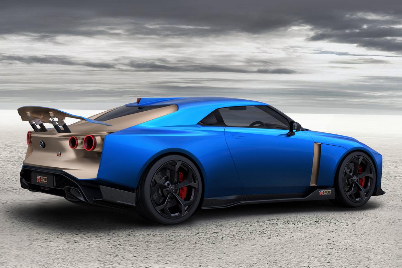 Nissan GT-R50 Italdesign Tre Quarti Posteriore