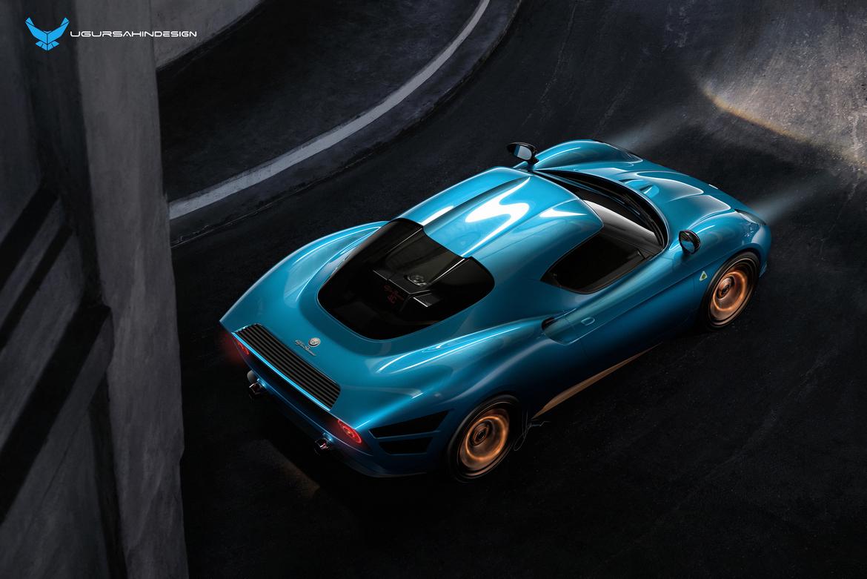 Alfa Romeo Nivola 2019 by Ugur Sahin Design Alto Azzurro