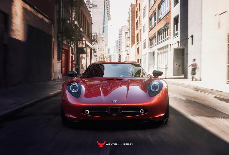 Alfa Romeo Nivola 2019 by Ugur Sahin Design Davanti
