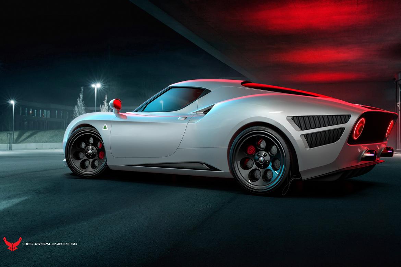 Alfa Romeo Nivola 2019 by Ugur Sahin Design Lato Argento