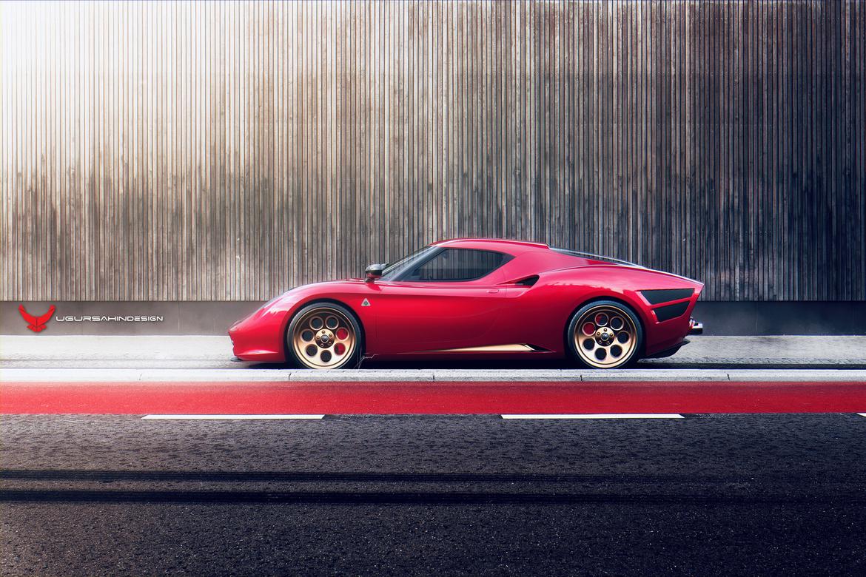 Alfa Romeo Nivola 2019 by Ugur Sahin Design Lato Legno
