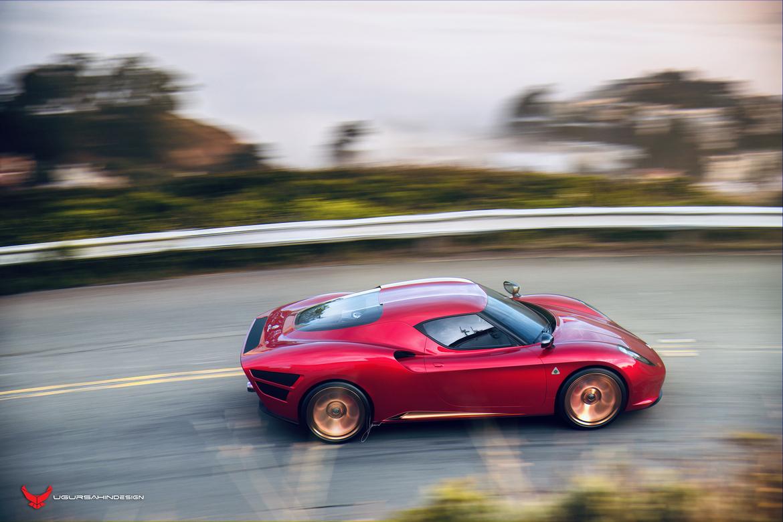 Alfa Romeo Nivola 2019 by Ugur Sahin Design Red