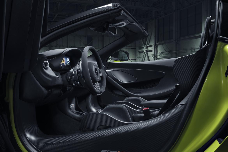 McLaren 600LT Interni
