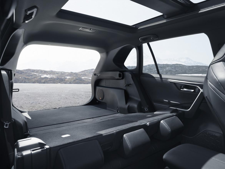 Toyota nuovo RAV4 Hybrid Bagagliaio