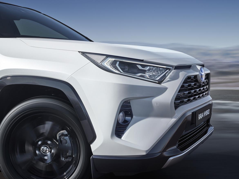 Toyota nuovo RAV4 Hybrid Dettaglio