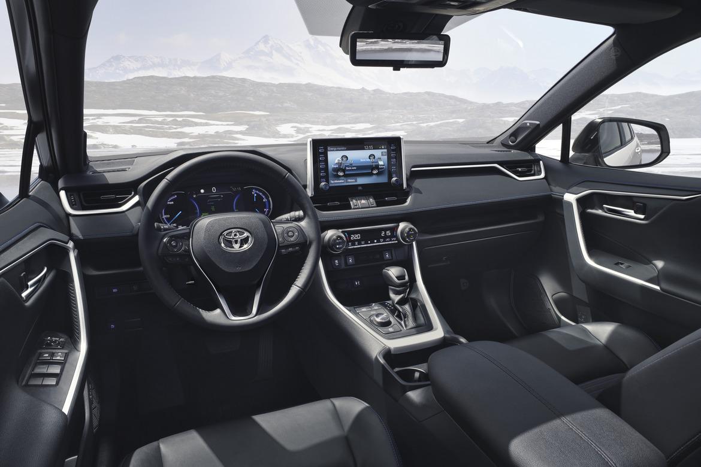 Toyota nuovo RAV4 Hybrid Interni