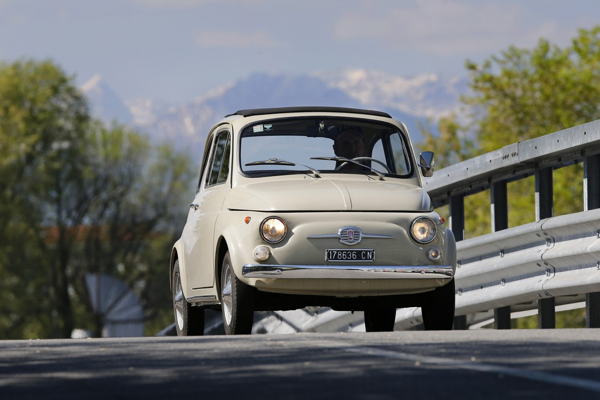 Fiat 500F MoMA Frontale