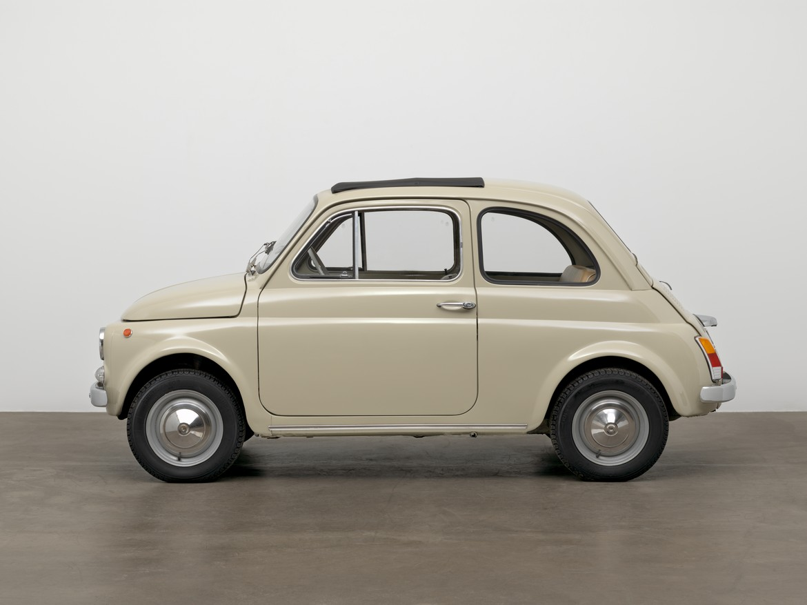 Fiat 500F MoMA Laterale