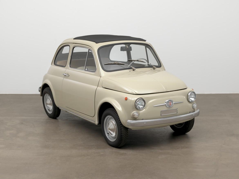 Fiat 500F MoMA Tre Quarti Anteriore