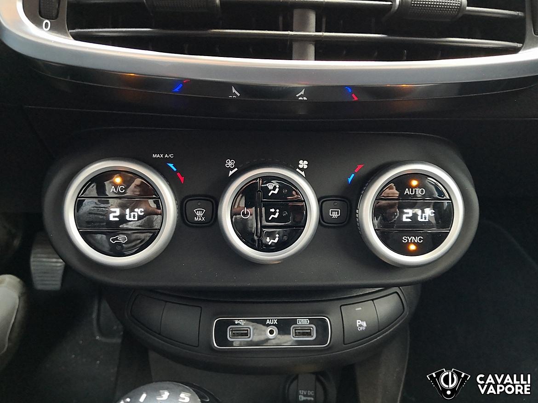 Fiat 500X Urban Dettaglio Comandi Aria Condizionata
