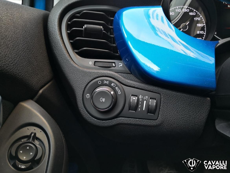 Fiat 500X Urban Dettaglio Comandi Luci