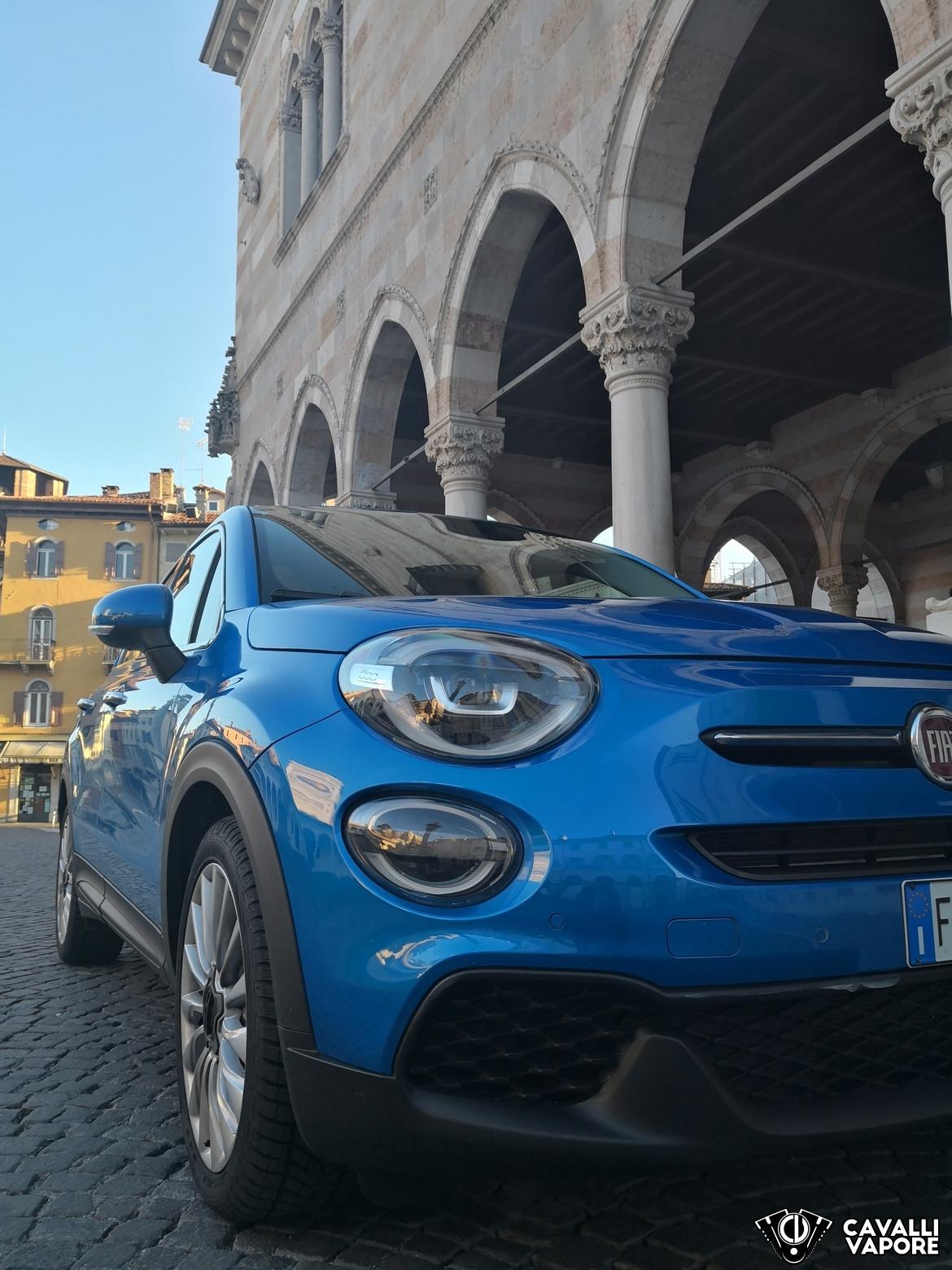 Fiat 500X Urban Dettaglio Esterno Piazza Udine
