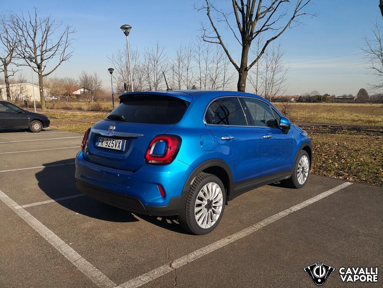 Fiat 500X Urban Tre Quarti Posteriore Parcheggio