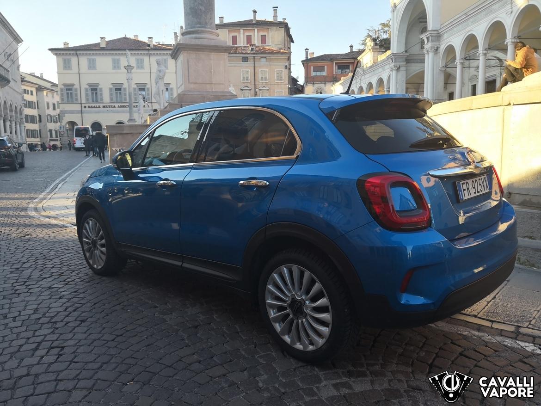 Fiat 500X Urban Tre Quarti Posteriore Piazza Udine