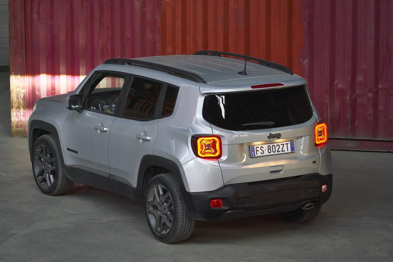 Jeep Renegade S Posteriore Laterale Sinistro