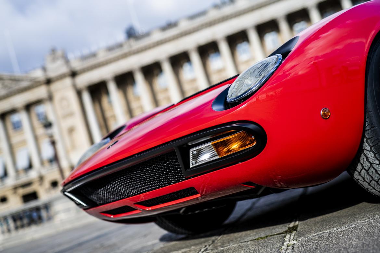 Lamborghini Miura SV Jean Todt Fanali