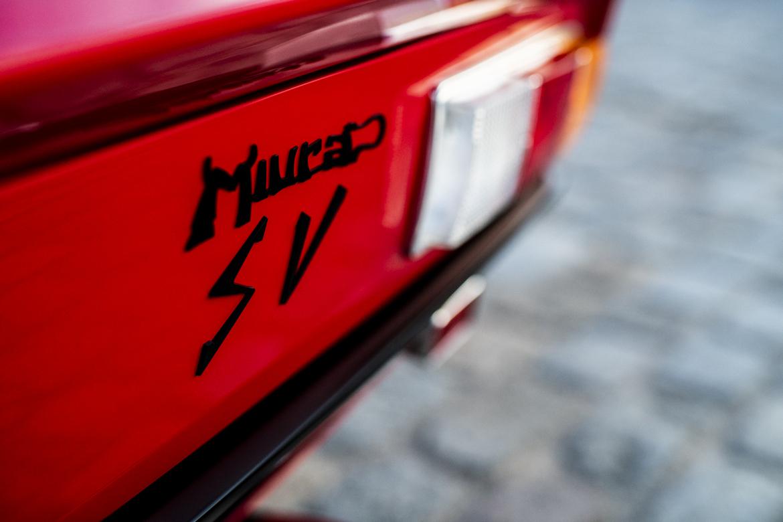 Lamborghini Miura SV Jean Todt Logo