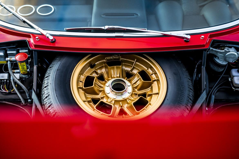 Lamborghini Miura SV Jean Todt Ruota di Scorta