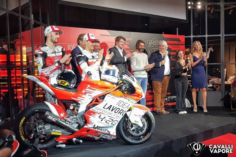 MV Agusta F2 Moto2 Presentazione 7