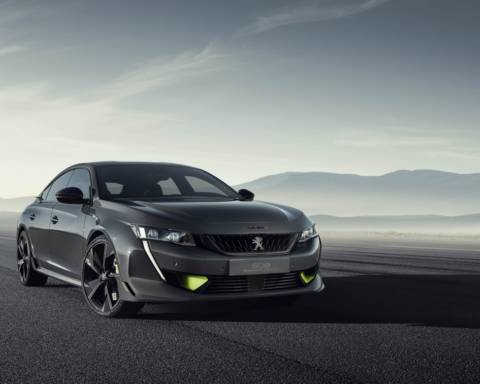 Peugeot 508 Sport Engineered Concept