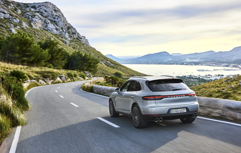 Porsche Macan S Posteriore