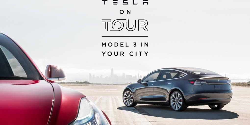 Tesla - Model 3 on Tour