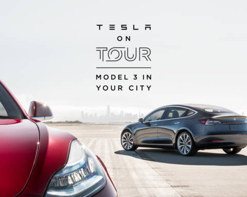 Tesla - Model 3 on Tour