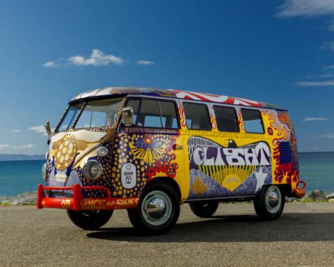 Vokswagen Light Bus Woodstock