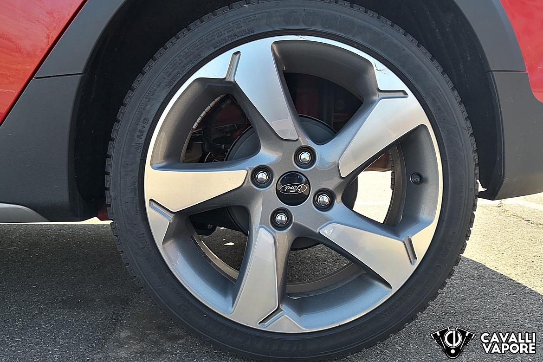 Ford Fiesta Active Prova su strada Cerchi in lega