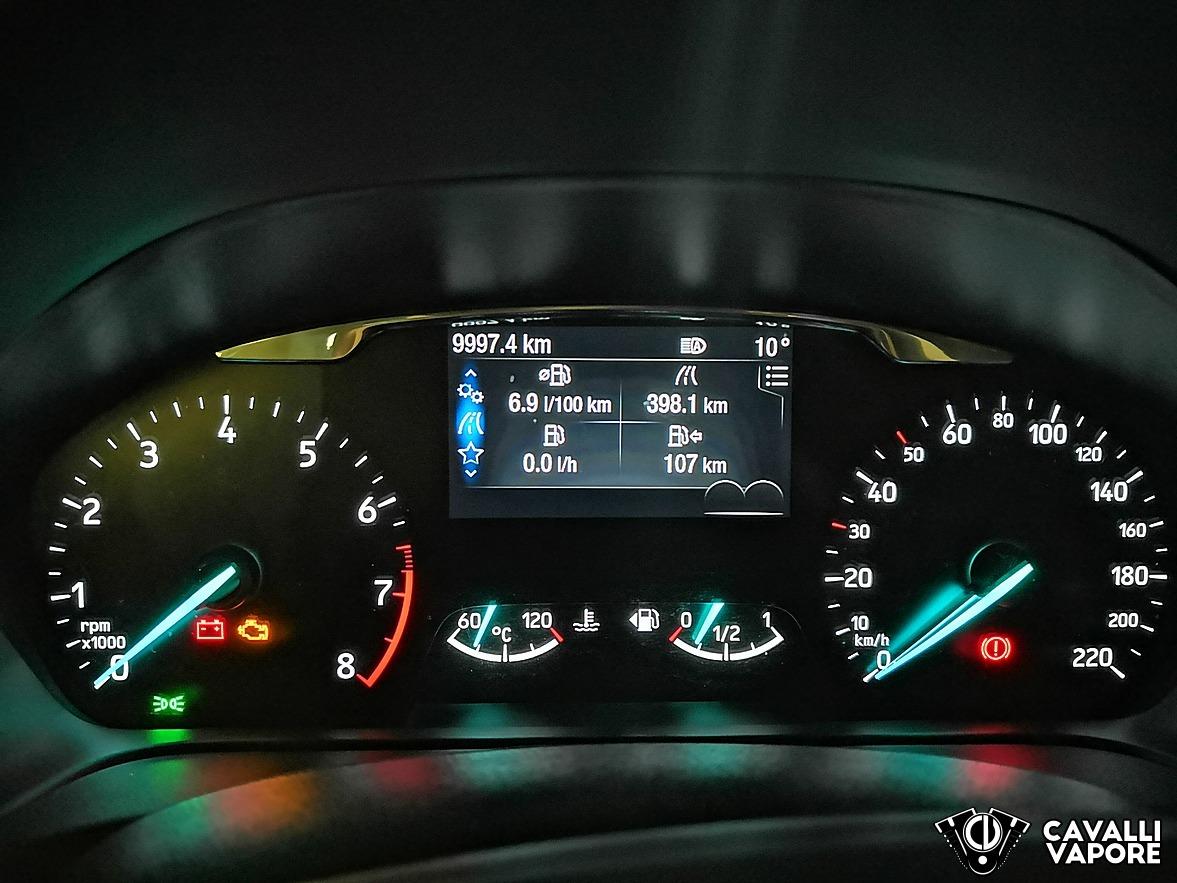 Ford Fiesta Active Prova su strada Cruscotto Accesso