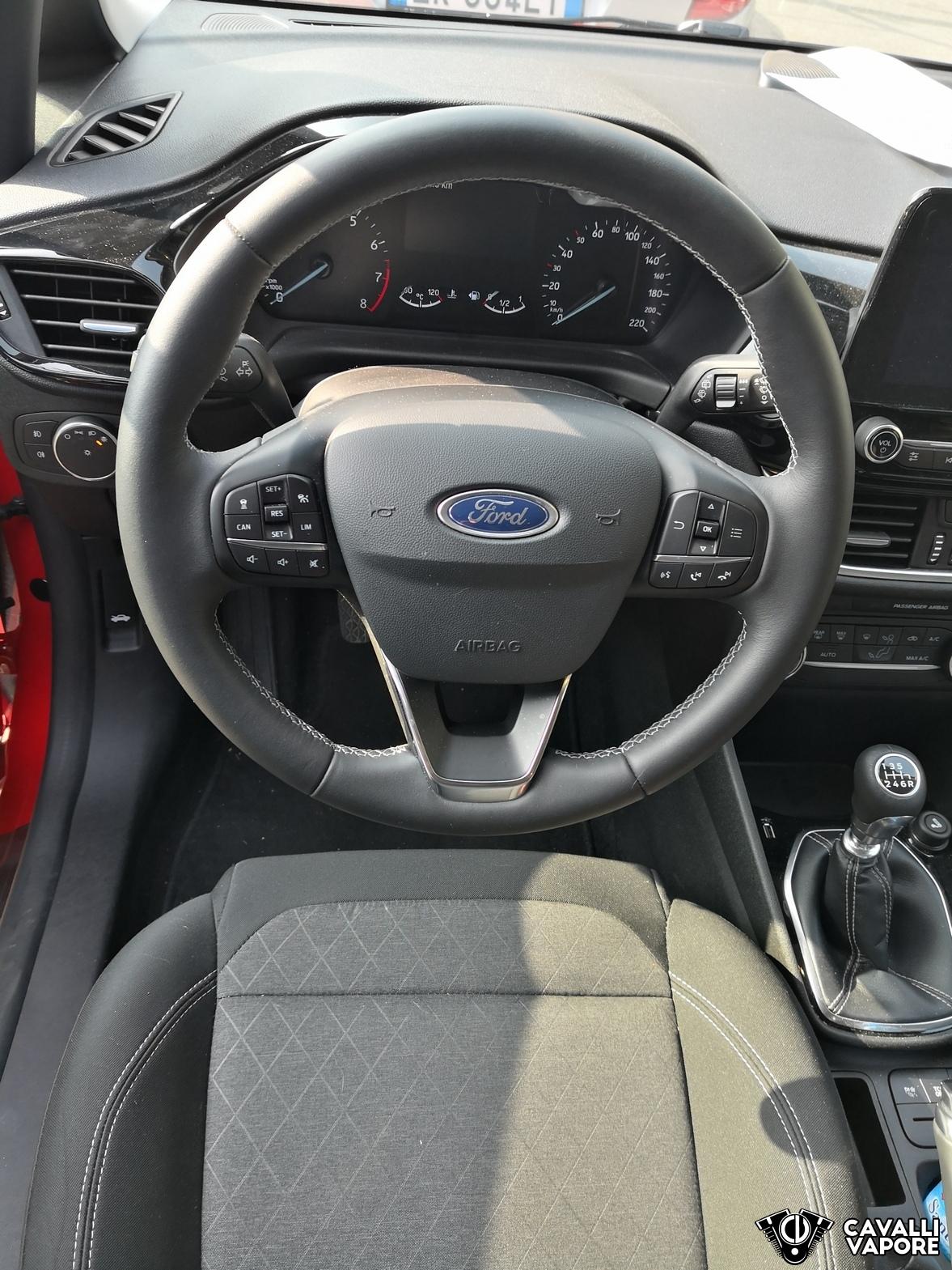 Ford Fiesta Active Prova su strada Cruscotto