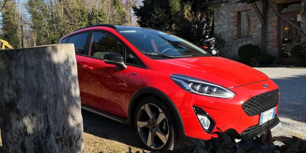 Ford Fiesta Active Prova su strada Friuli