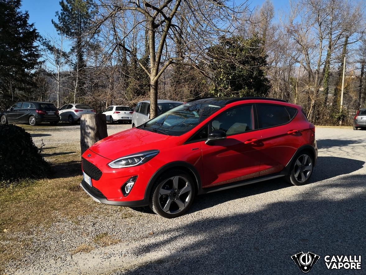 Ford Fiesta Active Prova su strada Lato Sinistro