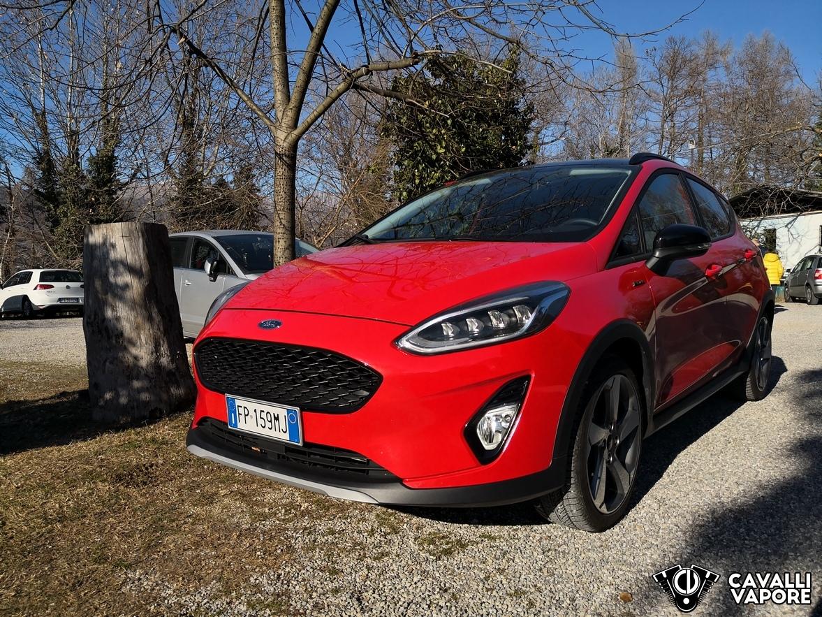 Ford Fiesta Active Prova su strada Tre Quarti Aneriore