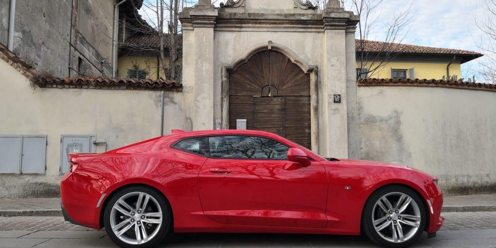 Chevrolet Camaro Lato Prova su Strada