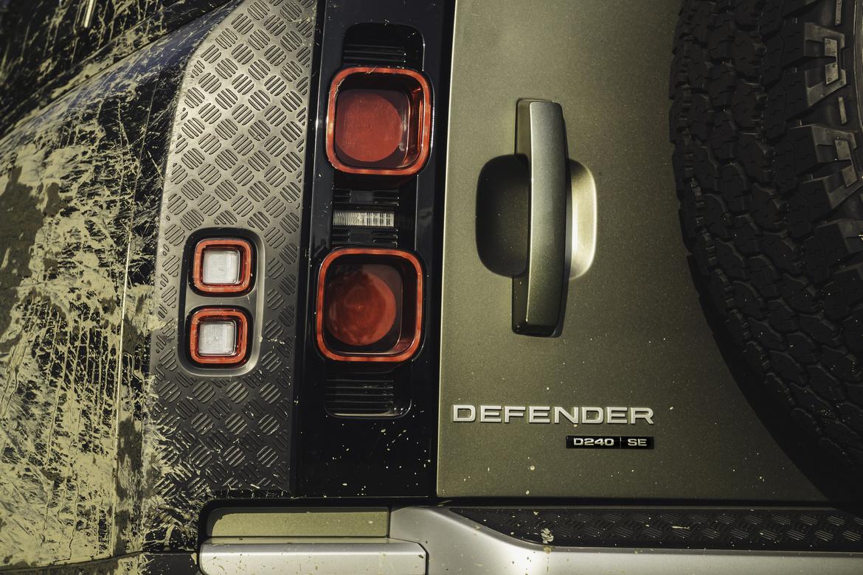 Nuovo Defender posteriore